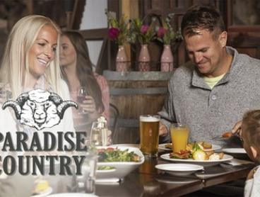 Paradise Country Farmhouse Restaurant: Two-Course Meal with Drink for 2 ($39), 4 ($75) or 8 ($139) (Up to $264 Value)