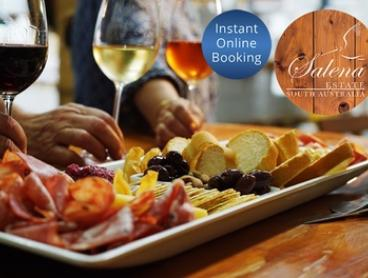 Gourmet Platter & Wine + Take-Home Bottle 2 ($35), 4 ($70) or 6 People ($105) at Salena Estate Wines (Up to $255 Value)
