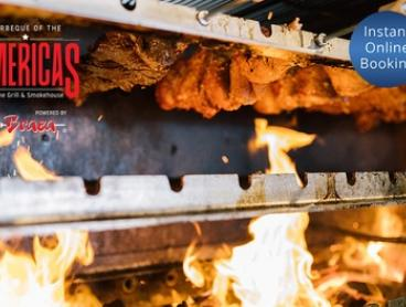 AYCE All-American BBQ + Wine or Beer: 1 ($43) to 6 ($250) at BBQ of the Americas, powered by Braza (Up to $378 Value)
