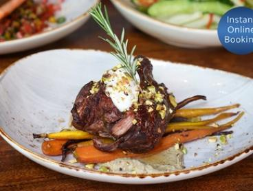 $29 for $60 or $49 for $100 to Spend on Contemporary Mediterranean Cuisine and Beverages at The Wolf Wine Bar