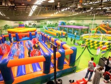 Two-Hour Pass to Inflatable Arena for One ($10), Two ($20) or Four People ($40) at Xtreme Inflatables (Up to $56 Value)