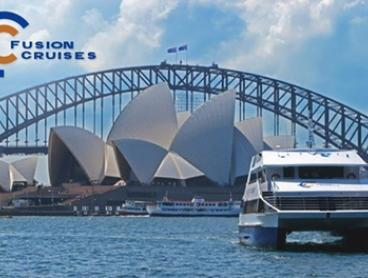 $29 for a Sydney Harbour Cruise and Three-Course Lunch with Fusion Cruises (Up to $55 Value)