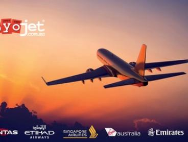 $5 for $100 Toward Flight to North, Central or South America or $10 for $125 Toward Flight to Europe from BYOjet