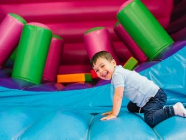Entry for One ($3), Two ($5.50), Three ($8) or Four Children ($9.90) to Tumbles Playhouse (Up to $44 Value)
