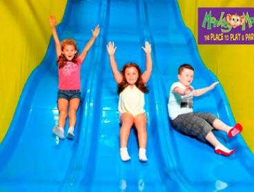 Monkey Mania Kids Pass: One ($6), Three ($17) or Ten Visits ($49) at Monkey Mania, Multiple Locations (Up to $150 Value)