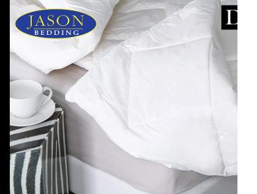 Jason Australian 500GSM Double Wool Quilt - White