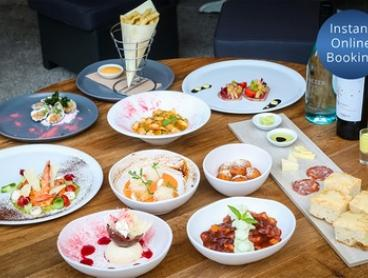 10-Course Italian Degustation with Drinks for Two ($119) or Four People ($236) at Albi's Taverna (Up to $636 Value)
