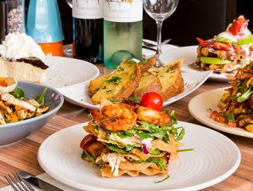 Three-Course Lunch or Dinner in Hornsby with a Bottle of House Wine per Couple - $45 for Two People, $85 for Four People, or $115 for Six People (Valued Up To $498)