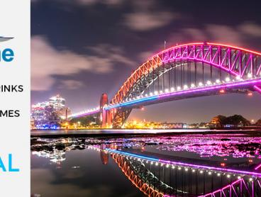 Harbour Cruises Throughout Vivid Festival 2018 - Just $30 for a Family-Friendly Cruise on the Weekend with Standing Buffet and Drink, or $25 for an Adults-Only Cruise with Two Drinks
