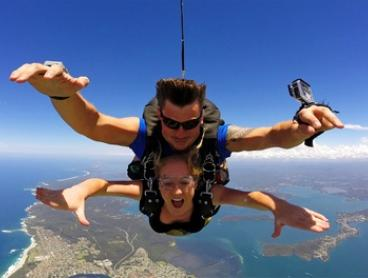 $214 (Plus $35 APF and Administration Levy) for a Tandem Skydive from Up to 15,000ft with Skydive Australia, Newcastle