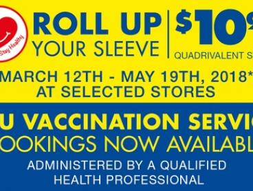 $10.99 for a Flu Vaccination Service at Chemist Warehouse - Over 160 Locations