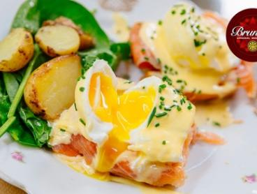 Gourmet Breakfast + Tea or Coffee: 1 ($10), 2 ($19) or 4 People ($35) at Cafe Brunelli - Glynde (Up to $87.20 Value)