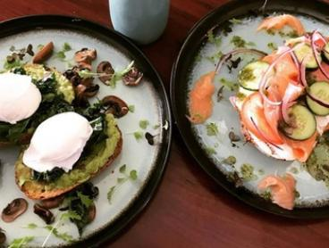All-Day Breakfast and Coffee for Two ($25), Four ($50) or Six People ($75) at Sugar Salt Espresso (Up to $141 Value)