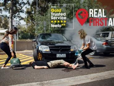 $59 for HLTAID003 First Aid and HLTAID001 CPR Course at Real First Aid, Melbourne or Sydney (Up to $199 Value)