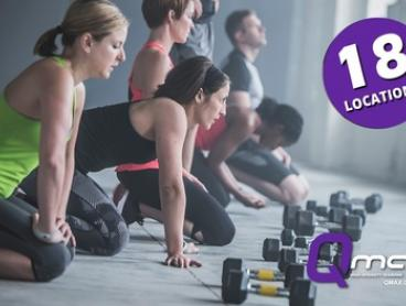 $9.95 for Two-Week Unlimited Functional Group Training Class Pass at Qmax, 18 Locations (Up to $80 Value)