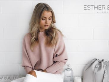 $25 to Spend on Clothes Online (Min Spend $75) at ESTHER & CO