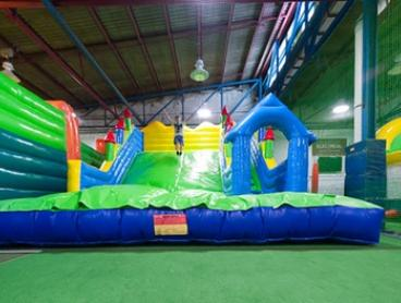 Entry for Adult and Child Under ($5) or Over ($15) 5 Years Old or Family Pass ($40) to Jumpin 4 Fun (Up to $57.60 Value)