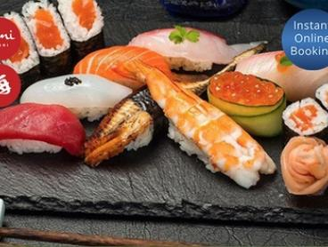 $25 for All-You-Can Eat Sushi Train and Buffet Bar for One Person at Umi Sushi & Bar (Up to $38 Value)
