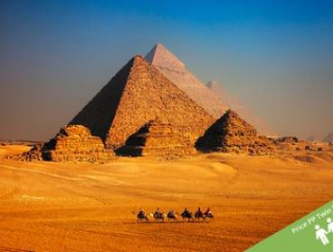 Egypt: From $2,299 for an 11-Night Tour with Meals, Nile Cruise, Domestic Flights, Transfers and Sightseeing