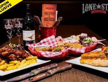 3-Course Rib House Feast with Wine