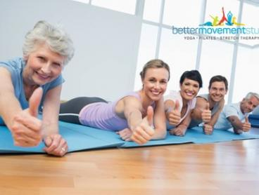 Five ($10) or Ten Yoga or Stretch Therapy Classes ($19) at Better Movement Studio - Flinders Park (Up to $120 Value)