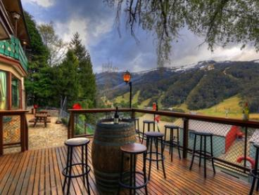 Thredbo: 1 Night for Two with Wine, Late Check-Out at Candlelight Lodge