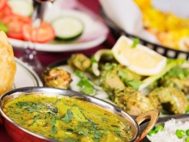 Authentic Indian Dinner + Drinks: 2 ($35), 4 ($69) or 6 Ppl ($99) at AB7 Indian Restaurant & Cafe (Up to $224.10 Value)