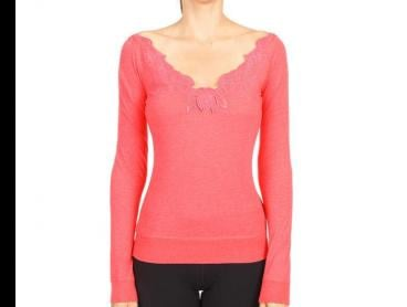 Lorna Jane Women's Lana Long Sleeve T-Shirt - Watermelon Marl
