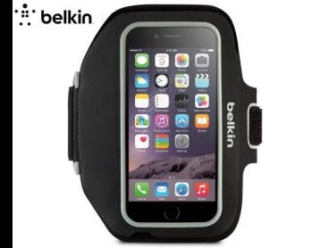 Belkin Sport-Fit Plus Armband For iPhone 6 Plus/6s Plus - Black