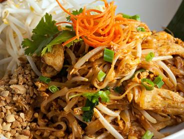 Three-Course Thai Lunch or Dinner with Wine in the CBD is Just $49 for Two People or $95 for Four People (Valued Up To $207.80)