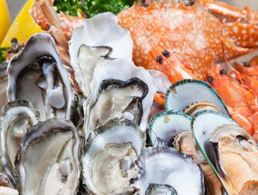 Decadent Seafood Buffet for Two People with Sparkling Wine at the Novotel, Just $69 on a Weekday or $99 on the Weekend (Valued Up To $181)