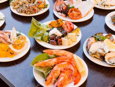 Seafood Buffet Spread at the Novotel Sydney Brighton Beach with Parking Included, Starting from $119 for Two People or $235 for Four People (Valued Up To $446)