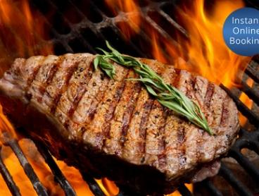 2-Course Meal & Wine or Beer: 2 ($29), 4 ($58) or 6 People ($87) at Labrador Tigers Sports Club (Up to $232.50 Value)