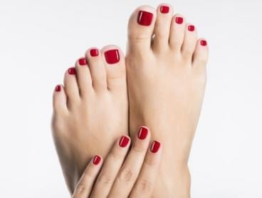 Manicure or Pedicure with Polish and Massage ($19), or Mani-Pedi Package ($35) at JT Salons (Up to $89 Value)