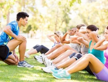 One-month Outdoor Group Fitness Training for One ($19) or Two People ($29) at 45 Minute Boot Camp