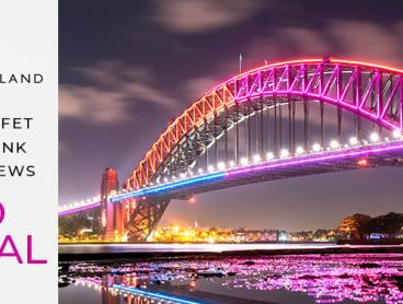 Pre-Sale Tickets for Sydney's Vivid Light Festival 2018 Harbour Cruise with Delicious Standing Buffet and Glass of Wine on Arrival. Prices Start from $39 per Person (Value $90)