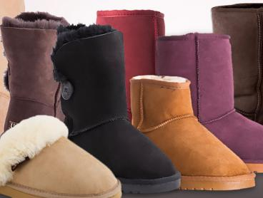 Treat Your Feet To Luxury This Winter with a Pair of Classic 100% Australian Sheepskin Ugg Boots! From $59