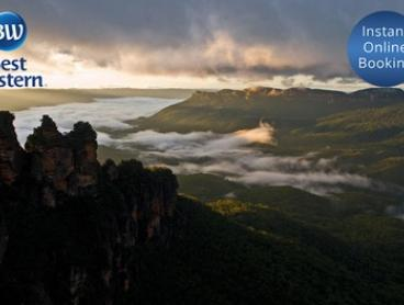 Blue Mountains, NSW: 1 or 2 Nights for Two People with Wine on Arrival and Late Check-Out at Best Western Alpine