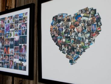 Design Your Own Framed Collage Canvas Print! Just $10 for a Regular Print or $20 for a Large, with Over 120 Templates to Choose From (Valued Up To $157.36)