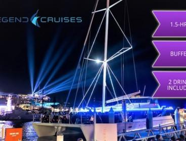 Vivid Cruise: Child Ticket ($35), or Adult Weekday ($32) or Weekend Ticket ($38) with Legend Cruises (Up to $89 Value)