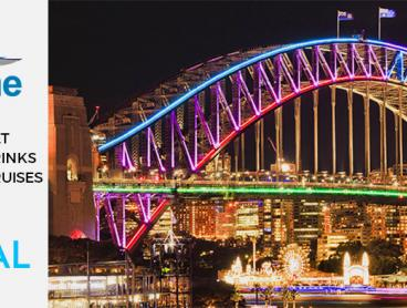 Experience Vivid Festival 2018 with a Harbour Cruise Ticket for Just $40! Includes Standing Buffet and Two Complimentary Drinks per Person (Value $89)