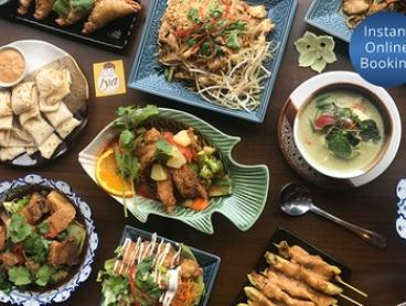 Two-Course Thai Dinner with Soft Drink for Two ($25) or Four People ($50) at Iya Thai Restaurant (Up to $114.40 Value)