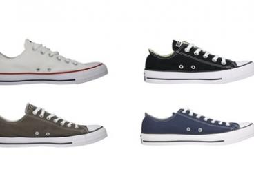 $65 for One Pair of Converse Chuck Taylor All Star Low-Top in Choice of Colour and Size (Don't Pay $100)
