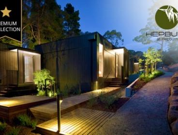 Daylesford: One-, Two- or Three-Night Secluded Villa Stay for Two People with a Welcome Pack at Hepburn at Hepburn