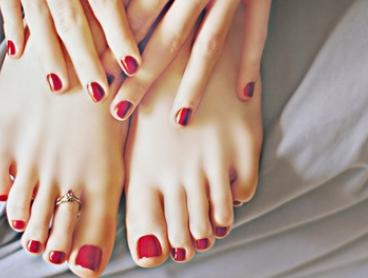 Shellac Manicure ($19), Pedicure ($25), or Both ($45) at Golden Nails and Spa (Up to $85 Value)