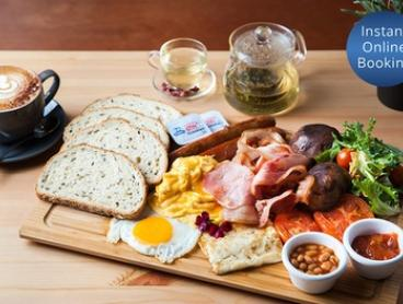 Breakfast with Drink Each for Two ($29) or Four People ($58) at More Dessert Coffee (Up to $102 Value)