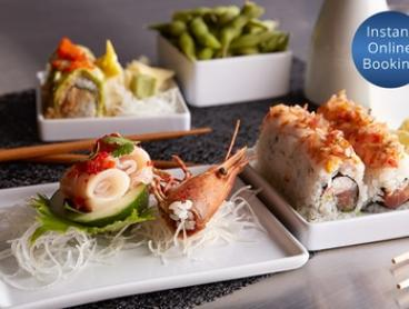 Six-Course Japanese Feast with Ice Cream or Wine for Two ($49) or Six ($147) People at Osaka Bar (Up to $333.30 Value)