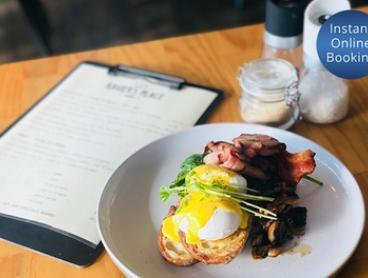 All-Day Breakfast or Lunch with Coffee and Juice for Two ($25) or Four People ($45) at Xavier's Place (Up to $104 Value)
