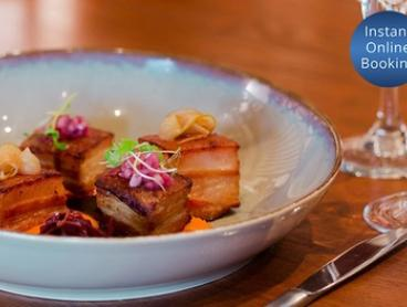 Fine dining French Korean fusion with Wine or Beer for 2 ($45), 4 ($89) or 6 People ($119) at Hyun (Up to $270 Value)