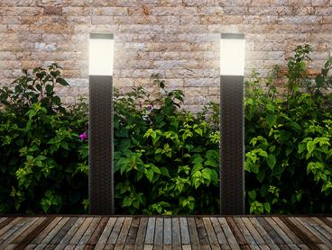 Enjoy Parties on The Patio Late Into The Evening with This Stylish Outdoor Solar-Powered Post Light. Only $19.99